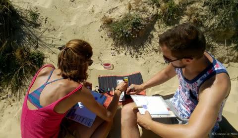Visite guidées dunes Médoc