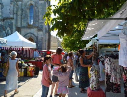 Hourtin ville marché - © Médoc Atlantique (5)