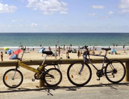 velo - plage Montalivet