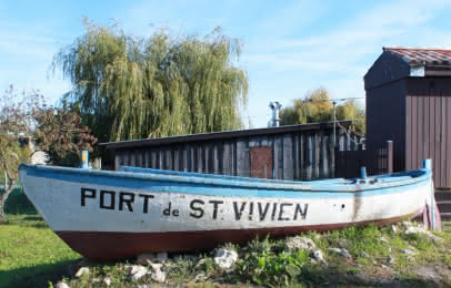 Port de Saint-Vivien-de-Médoc - © Médoc Atlantique