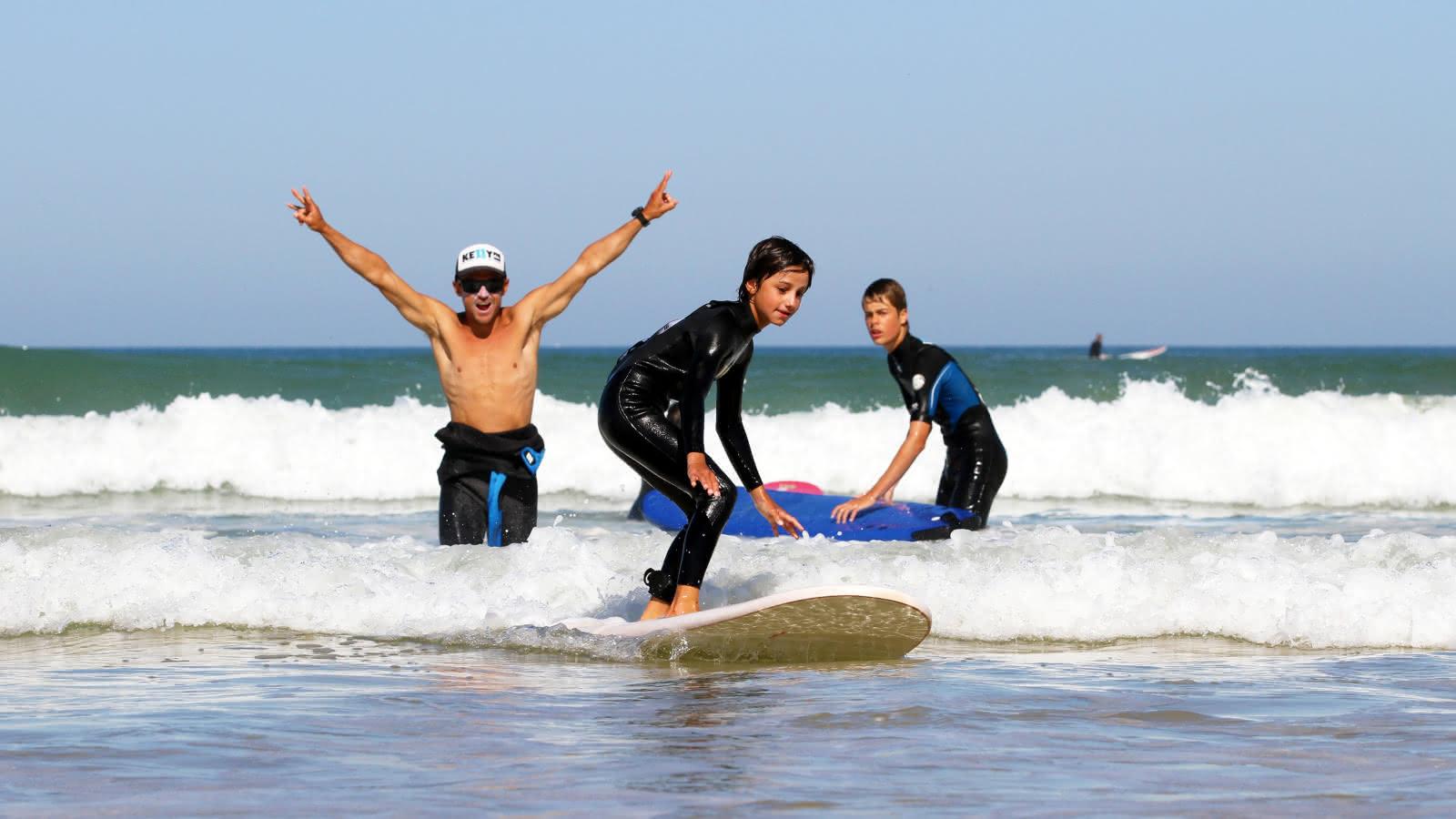 surf enfants Lacanau