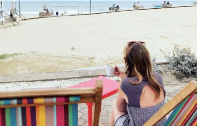 Café front de mer Montalivet - © Médoc Atlantique