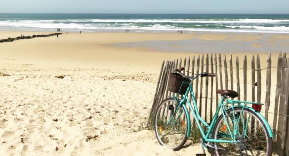 Vélo plage Lacanau