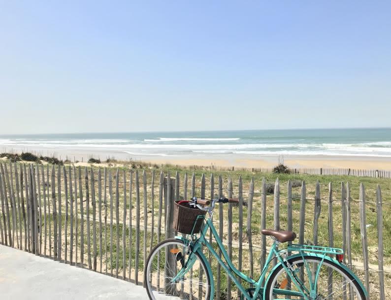 Vélo plage Lacanau - © Médoc Atlantique (11)