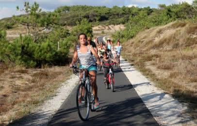 Vélo en famille Soulac