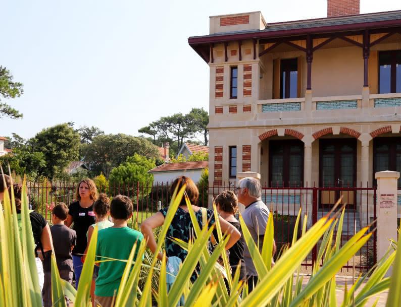 visite des villas anciennes lacanau