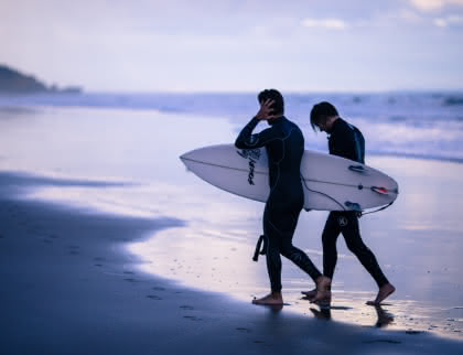 cours et stages de surf pour les enfants Montalivet