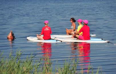 Activités de loisirs - Lacanau - SUP Yoga - Tengo Frio Surf (9)