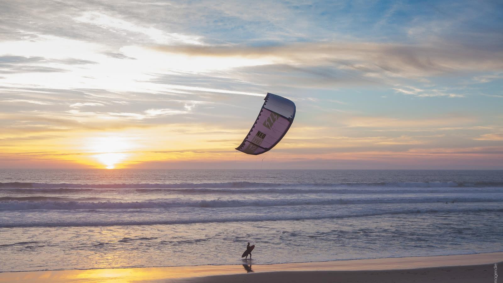 Kitesurf 2 - © Isabelle Magendie