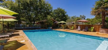 camping hourtin piscine chauffée 2