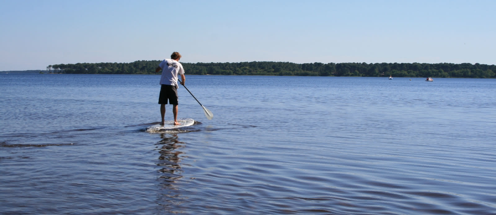 Activité Nautique Cris Loisirs Stand Up Kayak Lacanau 2