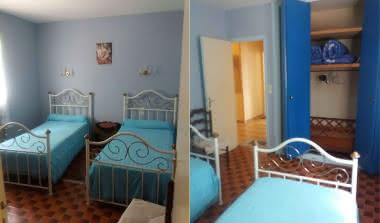 VILLA LA PALOMBIERE - Chambre 3- 2 lits simple 180x90