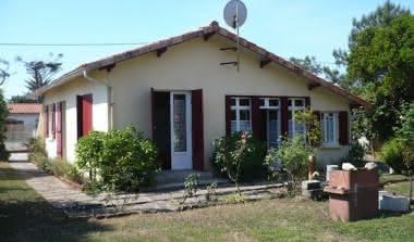 Photo arrière villa