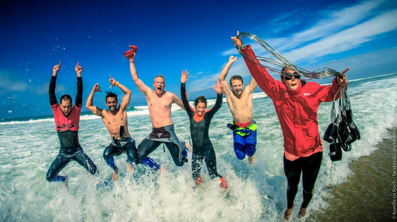 Ecole de surf-UCPA-Lacanau