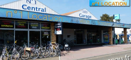 LOCATION DE VELOS CENTRAL GARAGE LACANAU OCEAN