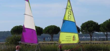 Activité - Windygliss - Carcans - Char à voile au lac