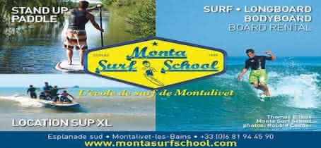 Montasurfschool