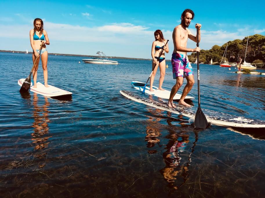 Evolution 2 Lacanau Stand'Up Paddle school 1
